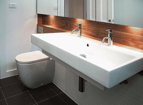 custom design bathroom