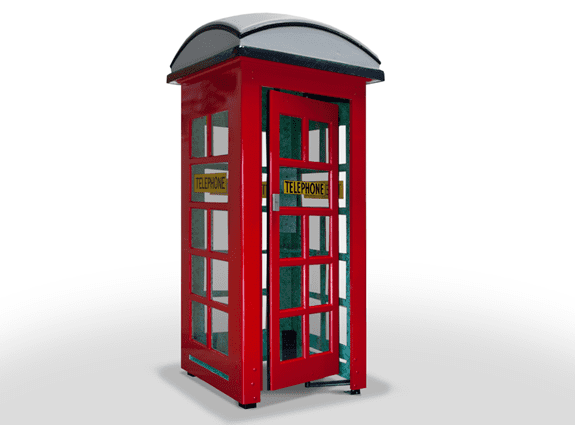 custom telephone booth