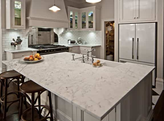 custom modern white kitchen cabinets